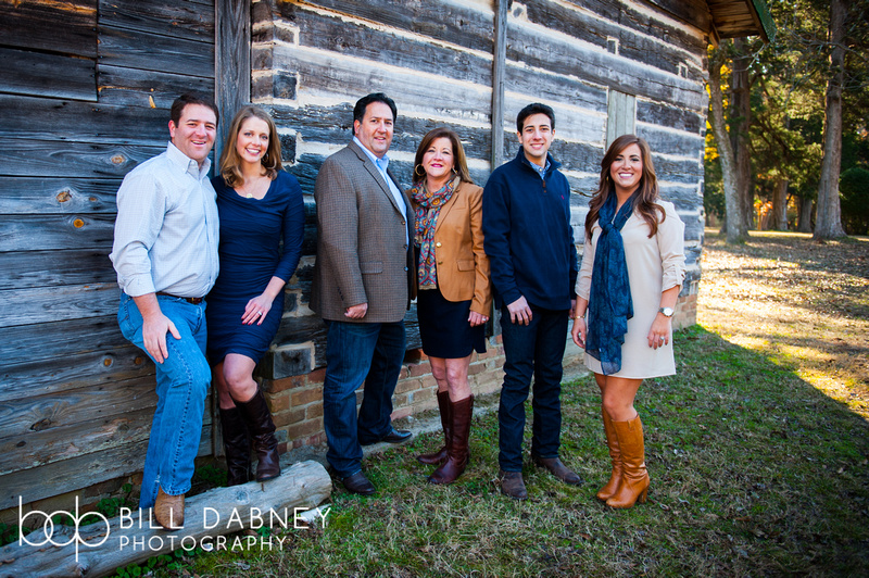 Family Portrait: Hotard Family by North Mississippi photographer Bill Dabney, based in Oxford.